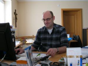 Elektromeister und Inhaber Gerald Spatz